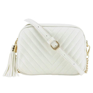 Tassel V thread designs crossbody bag - Fashion Bug Online