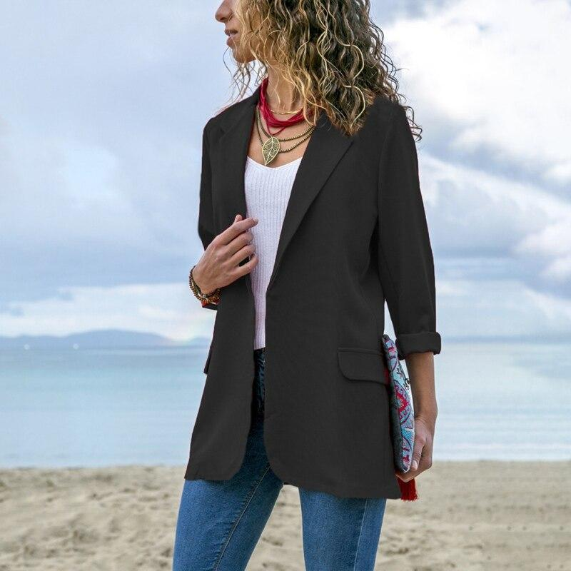 Vintage Elegant Blazer with pockets - Fashion Bug Online