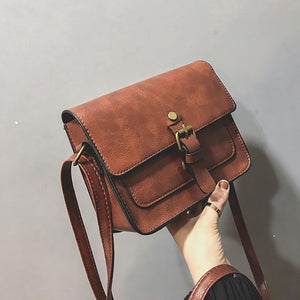 Vintage satchel-like crossbody bag - Fashion Bug Online