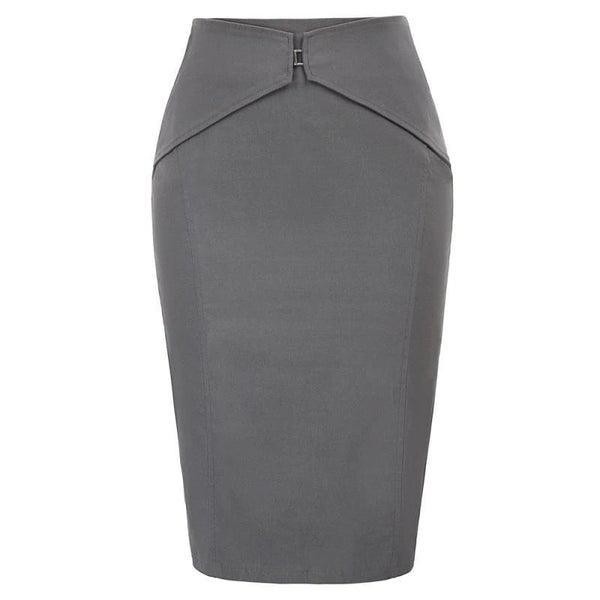 Working Girl Elegant Pencil Skirt - Fashion Bug Online