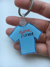 Load image into Gallery viewer, Yarn Lover Acrylic Keychain