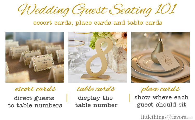 The Difference Between Escort and Place Cards