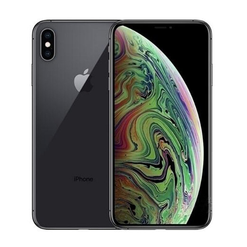 Unlocked Used Original iPhone XS Max 64GB-Black