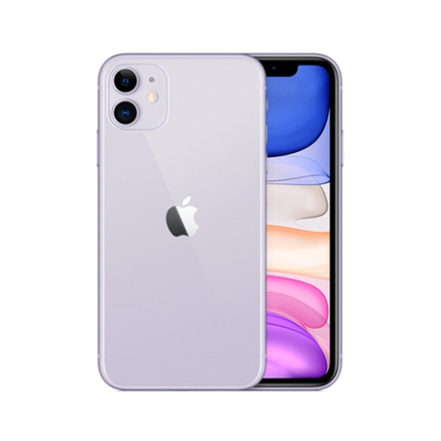 Original Unlocked Apple iPhone 11 128GB-Purple-Like New - 99% New