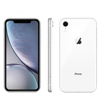 Unlocked Used Original Apple iPhone XR 64GB-white