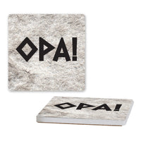 Nikanos Ogunquit Coasters (Set of 4 Ceramic Coasters - Cork-Backed)