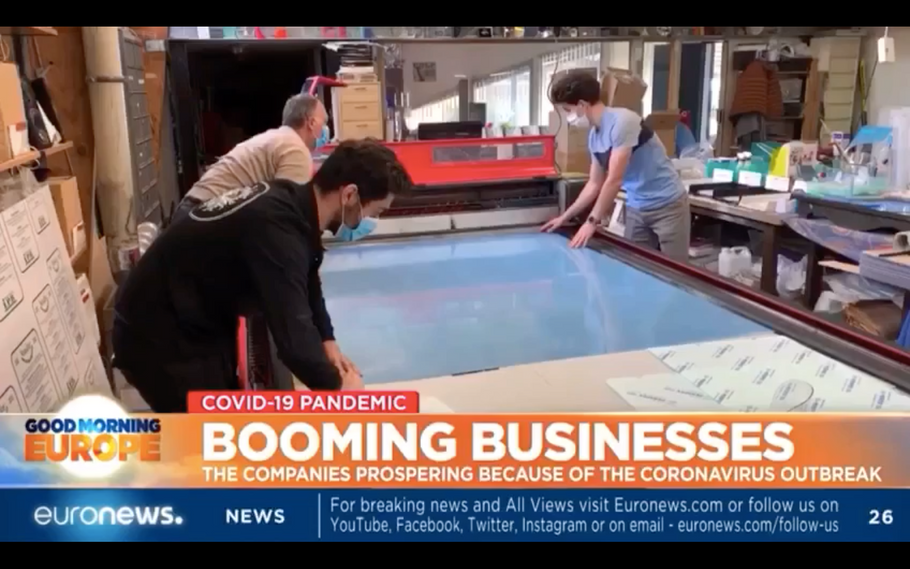 EURONEWS UK - Tecform France - BOOMING BUSINESS