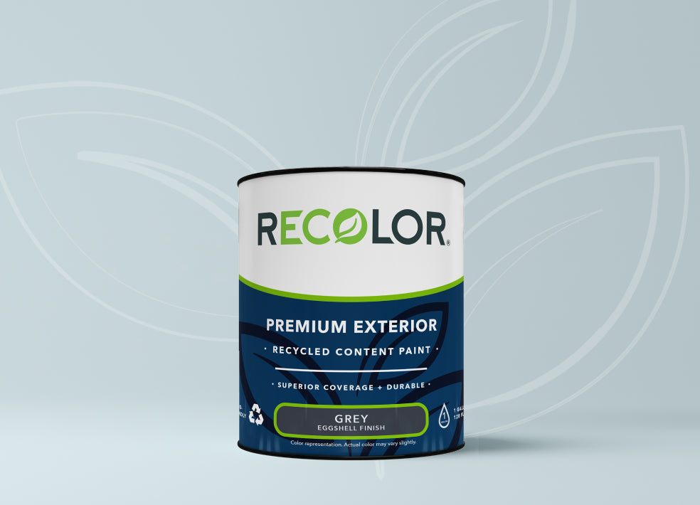 Can of RECOLOR® Exterior Paint