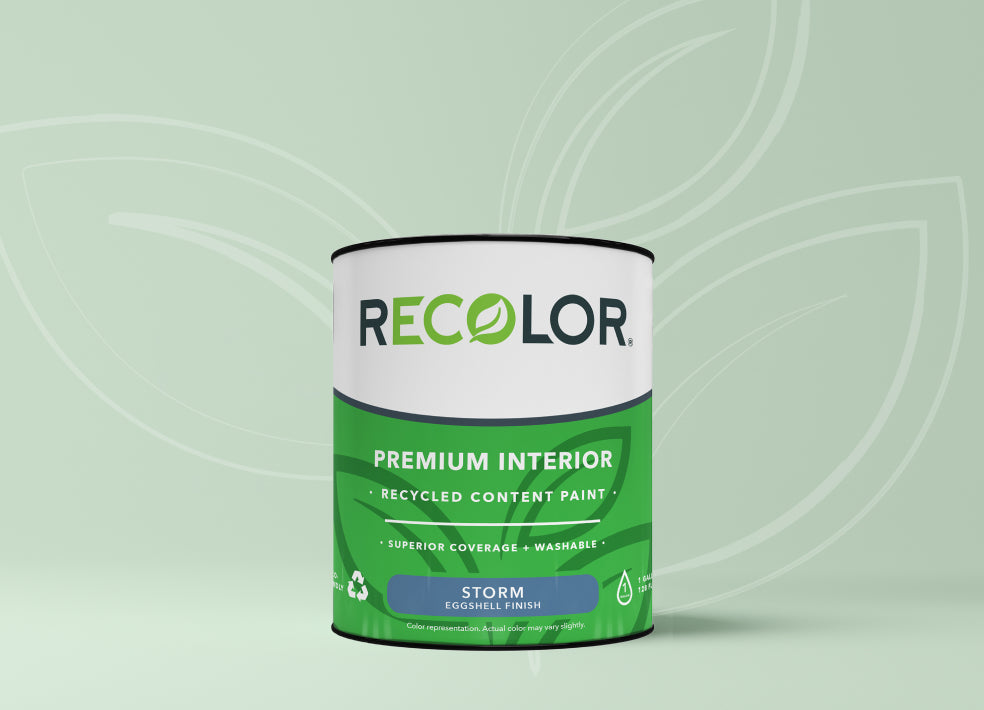 Can of RECOLOR® Interior Paint