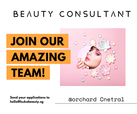 beauty consultant vacancy in Singapore