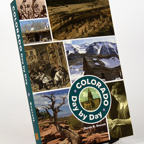 Colorado Day by Day book by Derek R. Everett is a this-day-in-history approach to the key figures and forces that have shaped Colorado from ancient times to the present