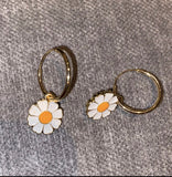 Daisy Loop Earrings