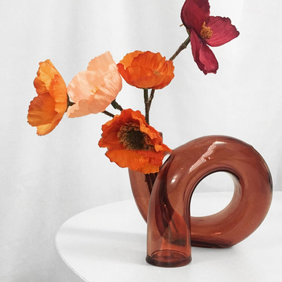 Single Stem Glass Vase