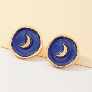 Mystic Enamel Earrings