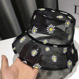 Sheer Daisy Bucket Hat