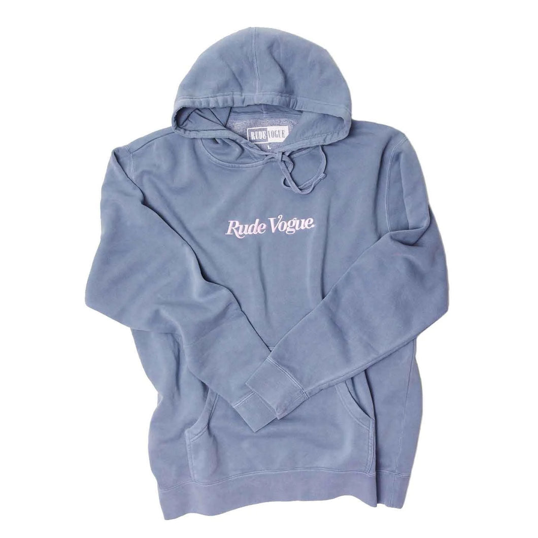Rude Vogue Washed hoodie