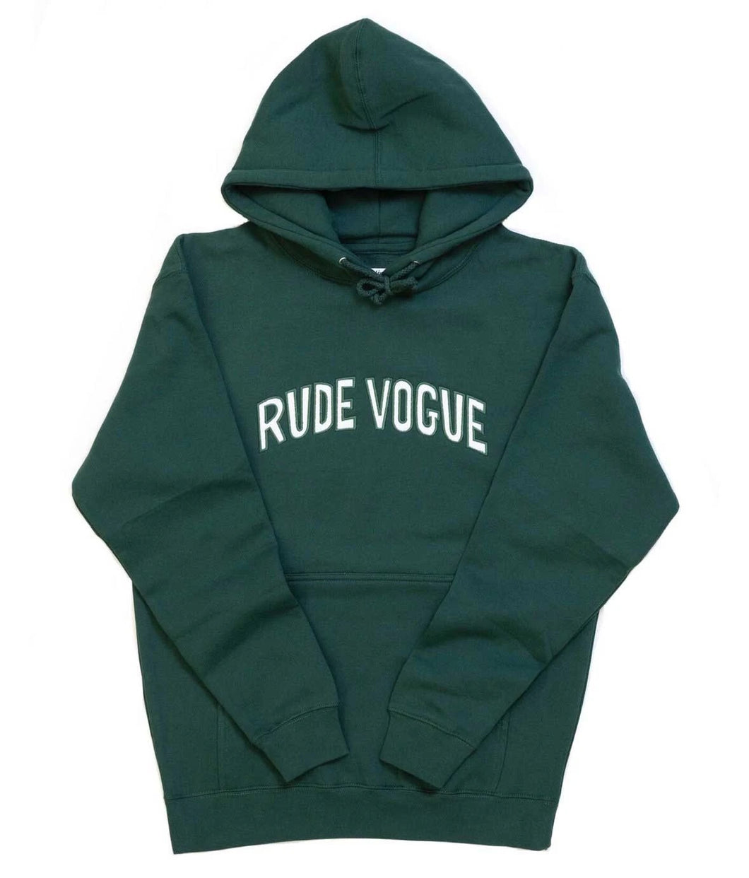 Twill arch hoodie Green