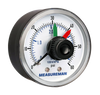 "Measureman Pressure Gauge with Dial Replacement 2 x 1/4"" NPT Back"
