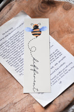 Load image into Gallery viewer, Bee Bookmark Bundle Yellow Laminated Bookmark