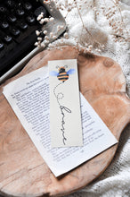 Load image into Gallery viewer, Bee Brave Laminated Bookmark