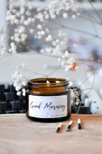 Load image into Gallery viewer, Good Morning Premium Wood Wick Candle