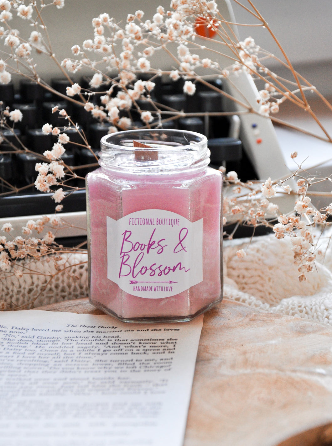 Books & Blossom Candle Contest