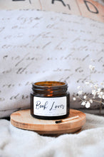 Load image into Gallery viewer, Book Lover Premium Wood Wick Candle