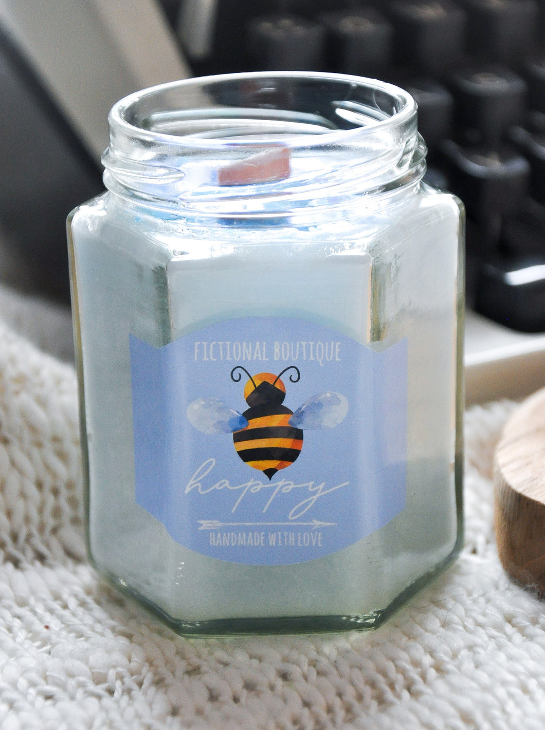 Bee Happy Limited Edition Candle