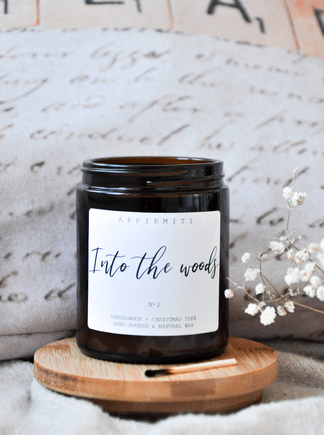 Into The Woods Premium Wood Wick Candle