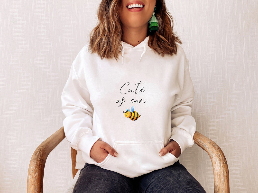 As Cute As Can Bee Bookish Shirt, Sweater Or Hoodie