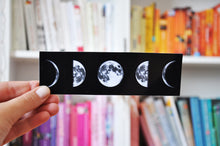 Load image into Gallery viewer, Moon Cycle Bookmark