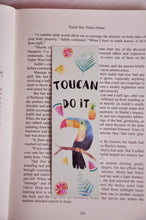 Load image into Gallery viewer, Toucan Do It Laminated Bookmark