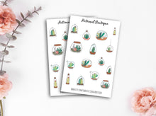 Load image into Gallery viewer, Succulent In Jars Sticker Sheet