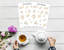 Load image into Gallery viewer, Cute Flower Sticker Sheet