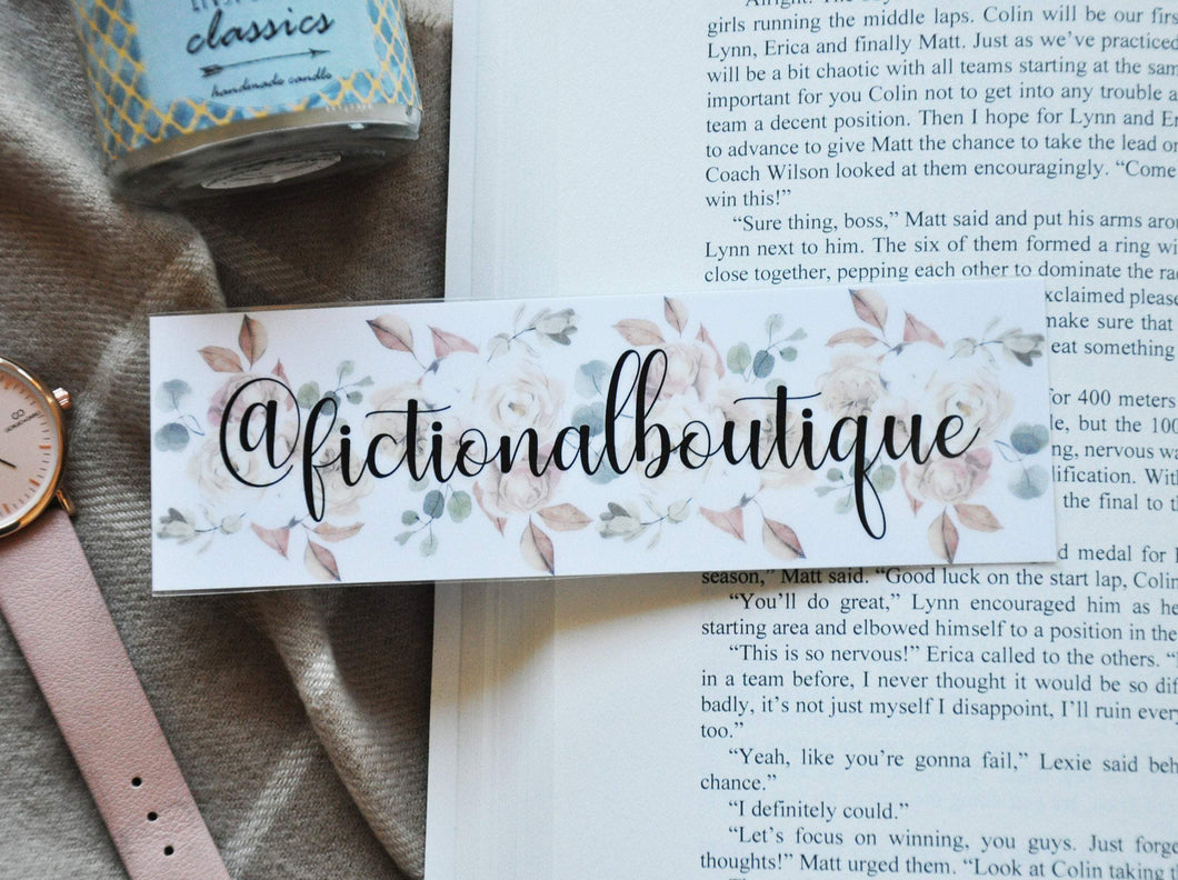 Personalized Laminated Bookmark