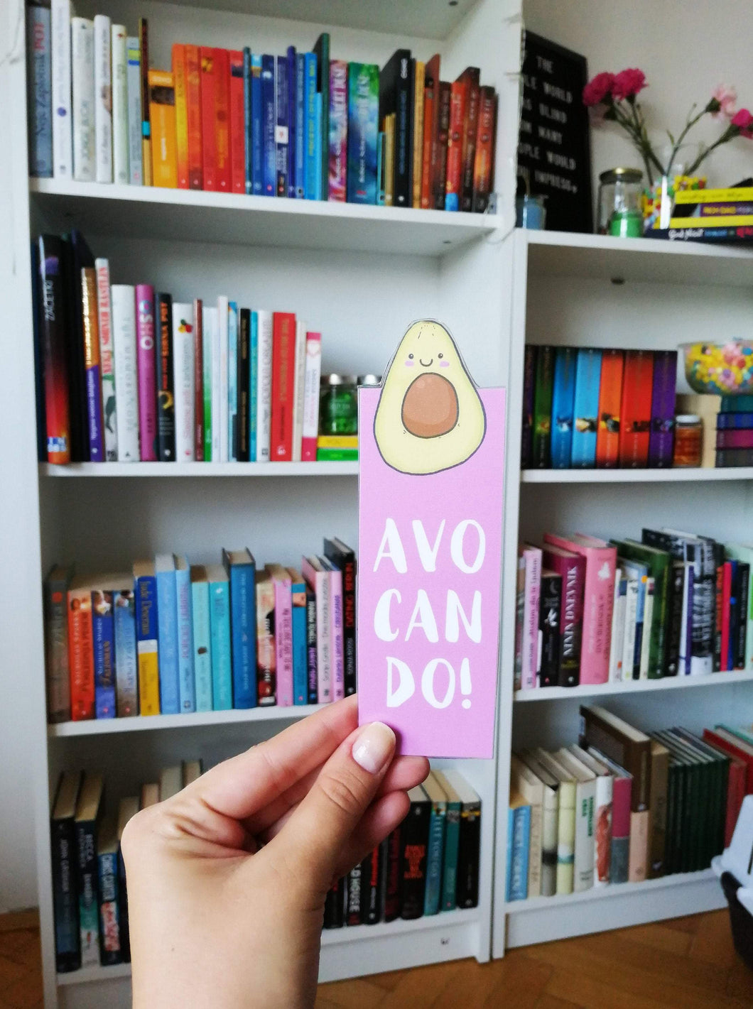 Avo Can Do Laminated Bookmark