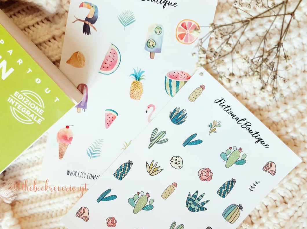 Tropical Sticker Sheet