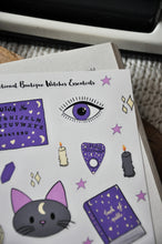Load image into Gallery viewer, Witch Essentials Sticker Sheet