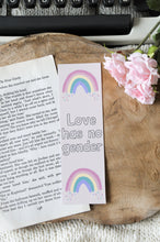 Load image into Gallery viewer, Love Has No Gender Laminated Bookmark