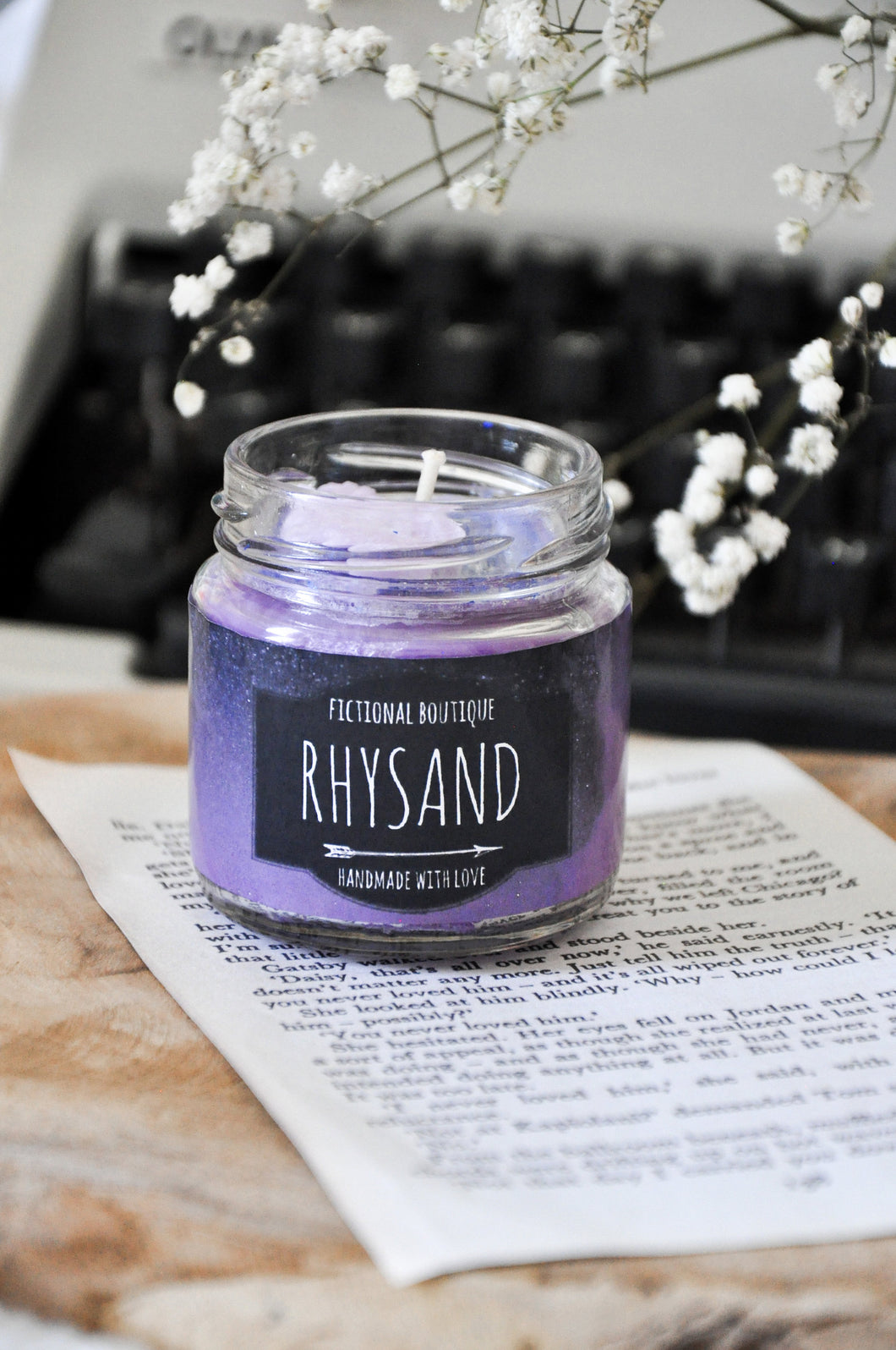 Rhysand Candle