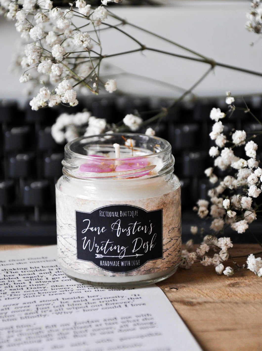 Jane Austen Writing Desk Candle