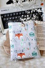 Load image into Gallery viewer, Boho Fox Book Sleeve