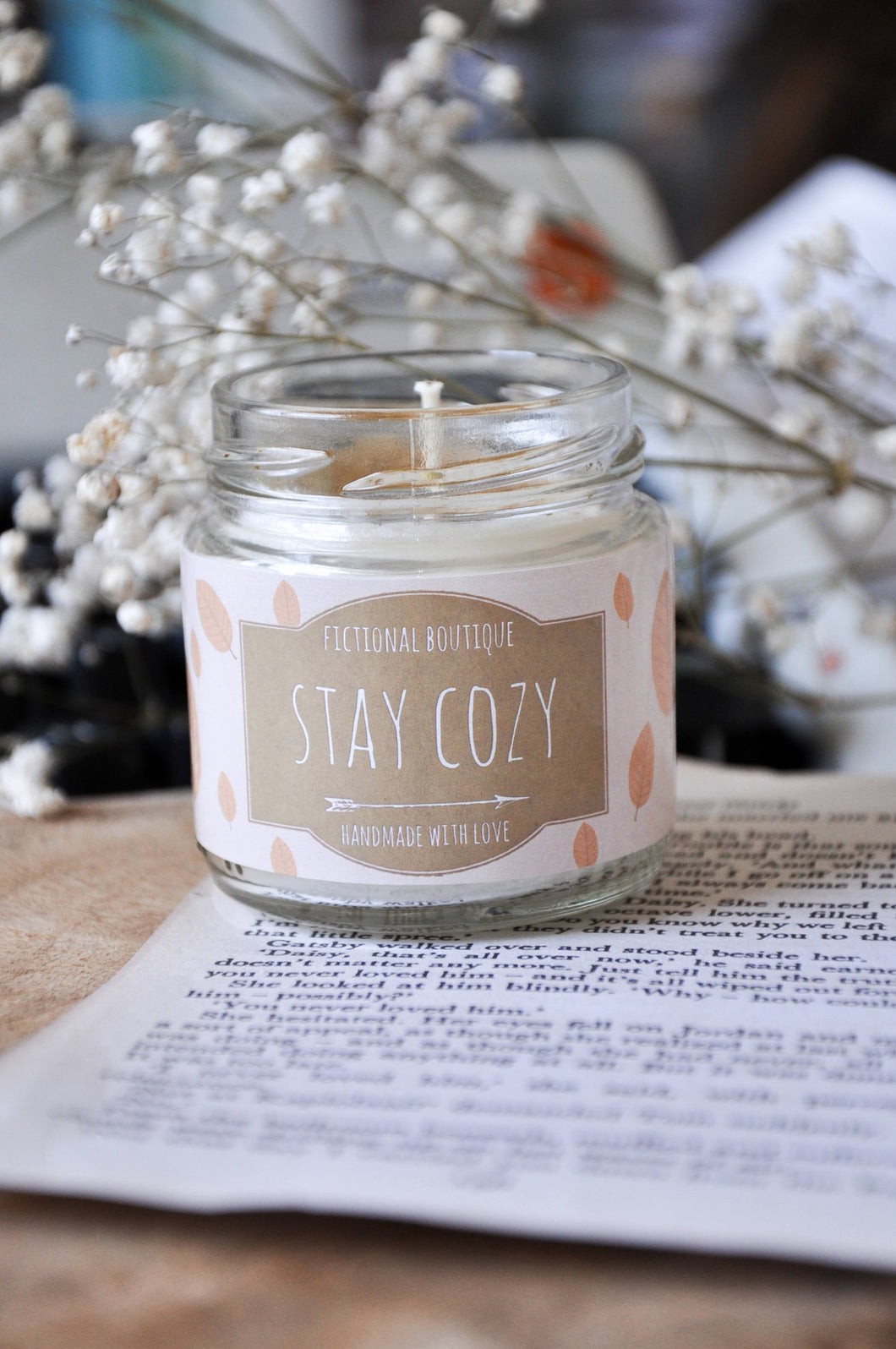 Stay Cozy Candle