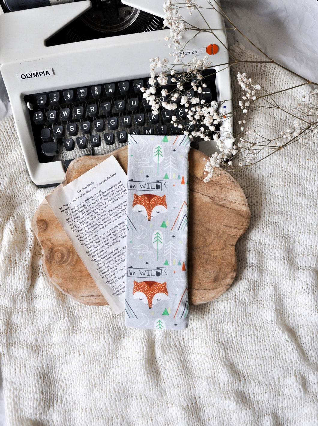 Boho Fox Bookmark Keeper