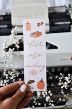 Load image into Gallery viewer, Fall Into Reading Autumn Bookmark