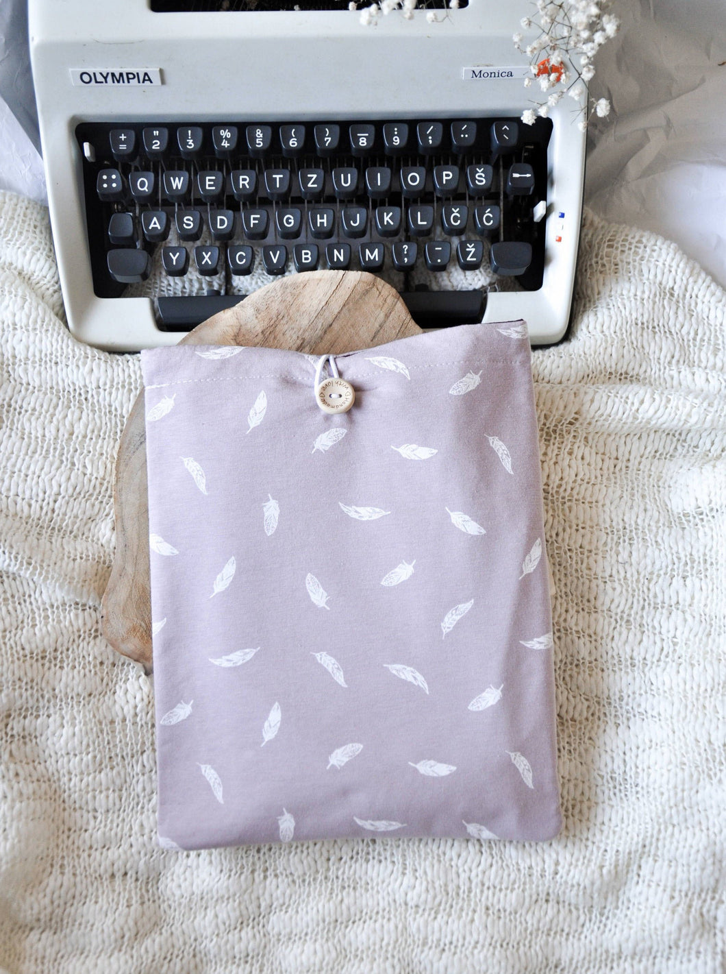 Feather Book Sleeve