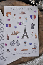 Load image into Gallery viewer, Paris Sticker Sheet