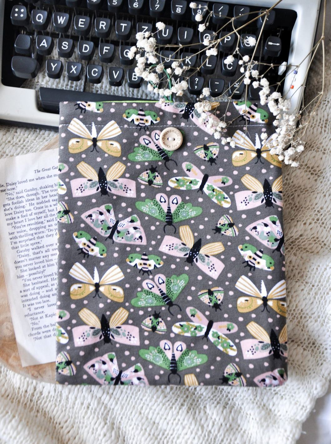 Butterfly Book Sleeve