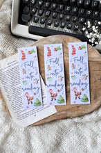 Load image into Gallery viewer, Fall Into Reading Winter Laminated Bookmark