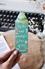 Load image into Gallery viewer, It's The Most Wonderful Time Of The Year Laminated Bookmark
